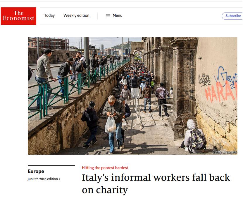 articolo Economist
